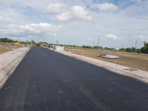 Cơ sở hạ tầng dự án Tân Lân Riverside cập nhật ngày 8/11/2018