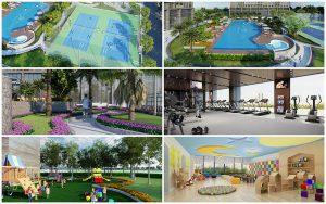 Tiện ích nội khu dự án Tân Lân Riverside