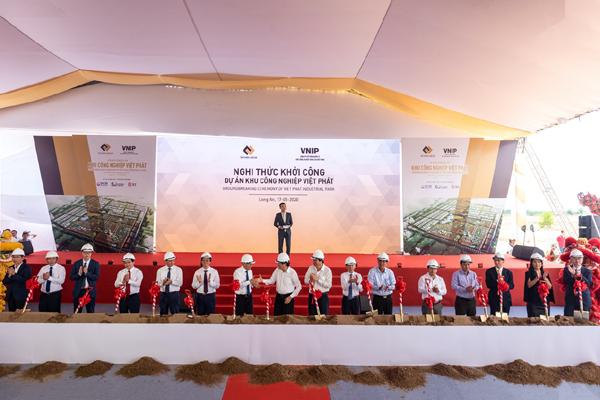 Khởi công dự án KCN Việt Phát 1.800 ha tại Long An.
