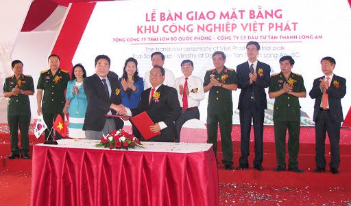 Khởi công KCN Việt Phát